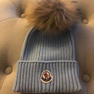 Moncler kids winter hat.